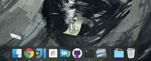 small resolution of screenshot of clippy desktop on macos