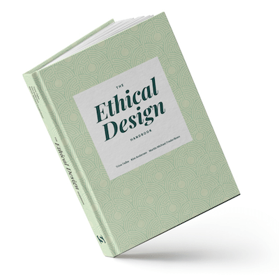 "The cover of the upcoming Smashing Book named ""Ethical Design Handbook"""