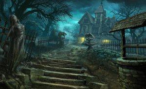 horror creepy wallpapers laptop dark gothic houses nightmare story mansion hand spooky resolution magazine terror mind american schody zamek stories