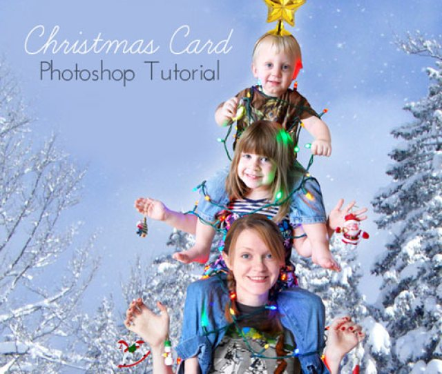How To Create Festive Christmas Card