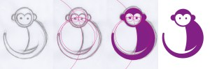 circles drawing animals challenge tutorial steps illustrating