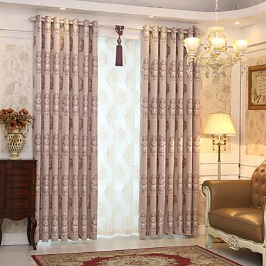 sur mesure occultant rideaux occultants rideaux deux panneaux 2 w107cm l213cm gris jacquard chambre d enfants de 4902749 2021 a 103 32