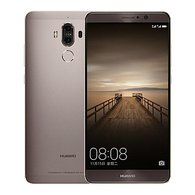 """Huawei Mate 9 5.9 """" Android 7.0 4G Smartphone (Dual SIM Octa Core 12 MP 20 MP 6GB + 128 GB Gold White Brown)"""
