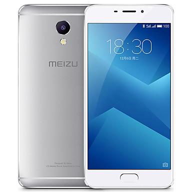 "MEIZU M5 Note 5.5 "" Flyme OS 4G Smartphone (Dual SIM Octa Core 13 MP 3GB + 32 GB Silver)"