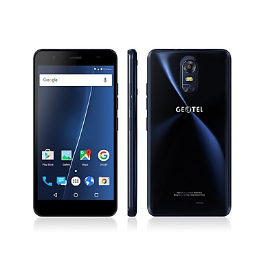"""Geotel Note 5.5 """" Android 6.0 4G Smartphone (Dual SIM Quad Core 8 MP 3GB + 16 GB Gold Blue)"""