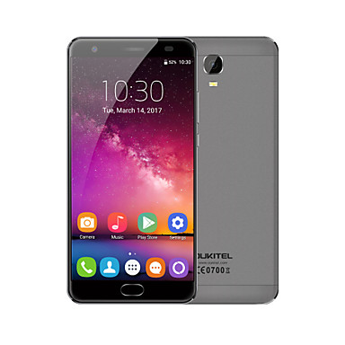"Pre Sale OUKITEL K6000 PLUS 5.5 "" Android 7.0 4G Smartphone (Dual SIM Octa Core 13 MP 4GB + 64 GB Grey Gold)"