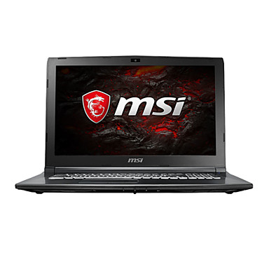 MSI gaming laptop 15.6 inch Intel i7-7700HQ 8GB DDR4 1TB HDD Windows10 GTX1050Ti 4GB GL62M 7REX-1252CN