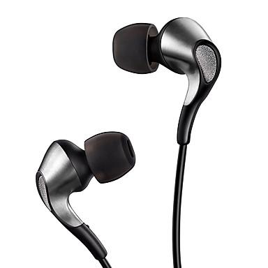 MEIZU EP61 In Ear Cable Headphones Earphone Copper Mobile Phone Earphone with Microphone / with Volume Control Headset