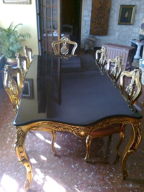 mesa de comedor luis 15