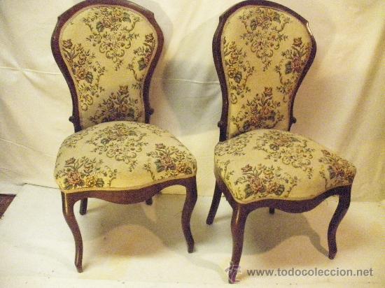 Par de sillas victorianas  Vendido en Subasta  27310893