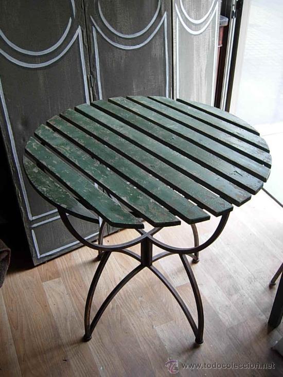 preciosa mesa de jardin o terraza con tapa de m  Comprar