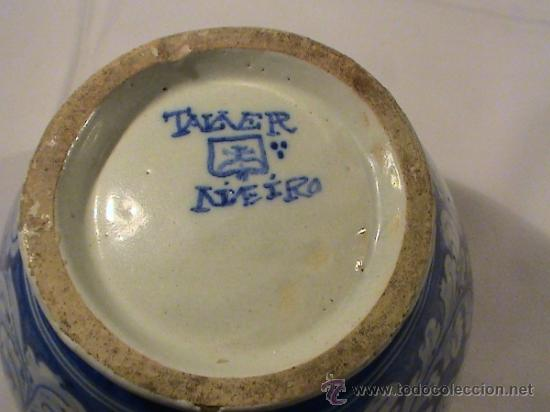 magnifico jarrn de cermica de talavera poca  Comprar
