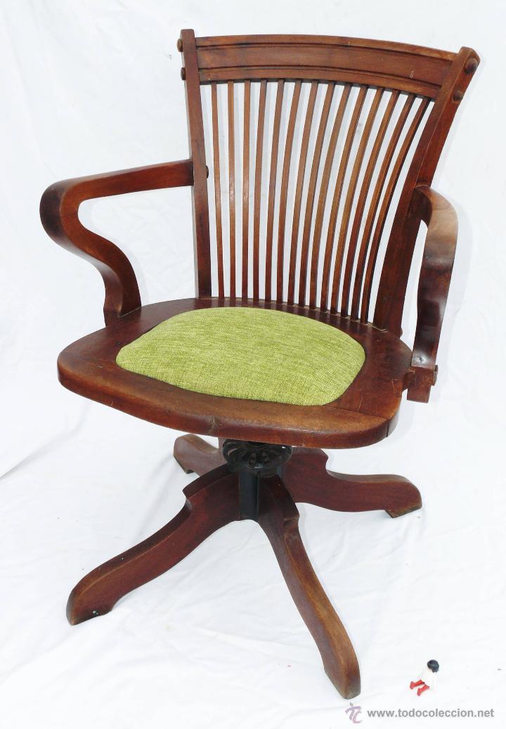 preciosa silla antigua escritorio despacho gira  Comprar