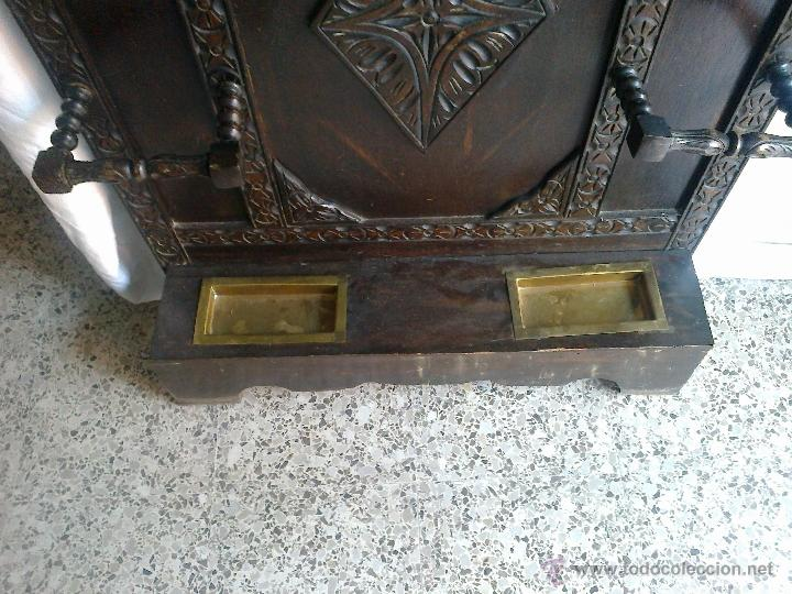 Antiguo mueble de entrada recibidor paraguero  Vendido