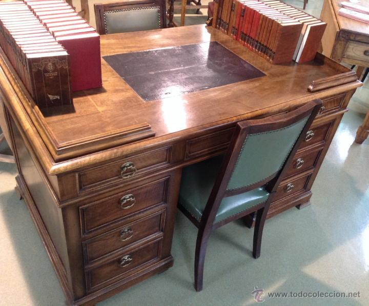 espectacular  escritorio nogal  totalmente re  Comprar