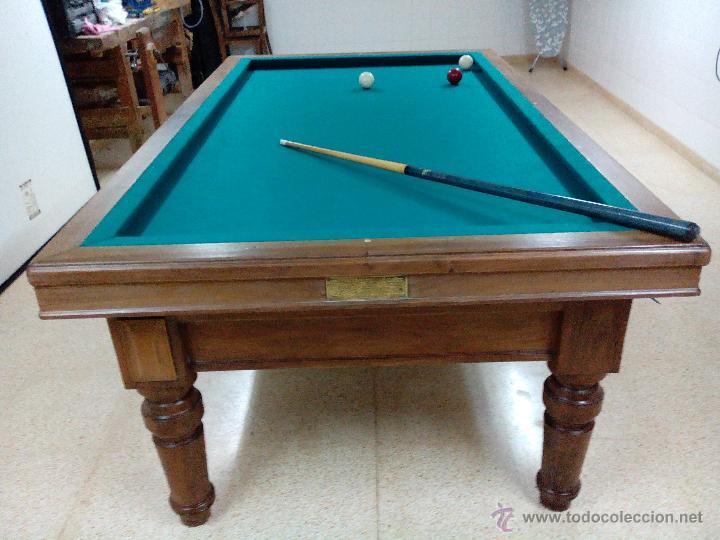 mesa de billar sxix  Comprar Mesas Antiguas en