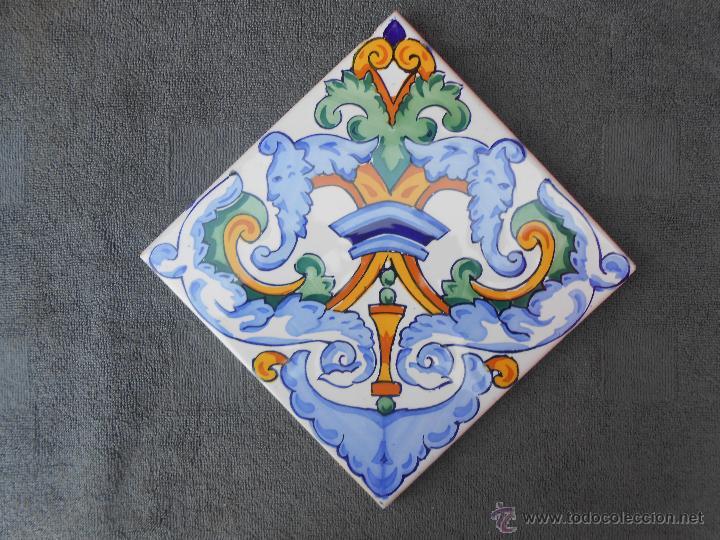 antiguo azulejo onda  espaa  Comprar Azulejos