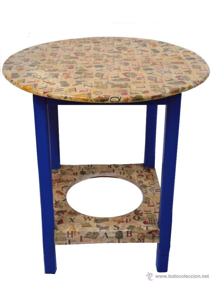 antigua mesa camilla decorada al estilo antiguo  Comprar Mesas Antiguas en todocoleccion  48000521