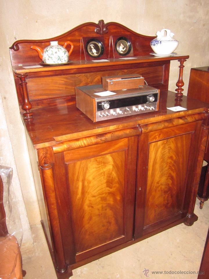mueble recibidor de madera antiguo en perfectas  Comprar