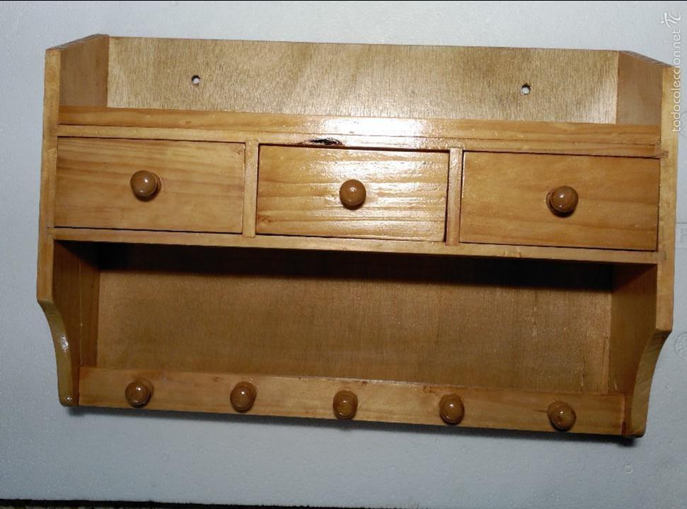 especiero mueble para cocina 30x44x12cm  Comprar Muebles Auxiliares Antiguos en todocoleccion  55685042