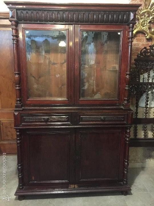Hornacina vitrina o aparador isabelino con 6  Vendido