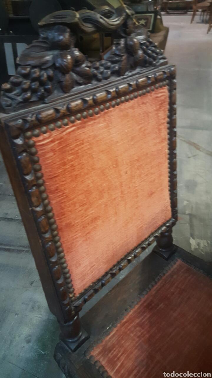 antiguo conjunto de mesa y sillas de comedor s  Comprar Mesas Antiguas en todocoleccion  61583392