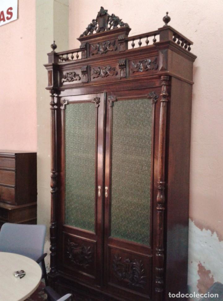 armario librera vitrina antigua alfonsina libr  Comprar