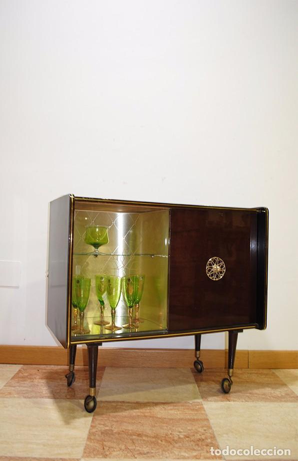 mueble bar licorero estilo vintage aos 70  Comprar