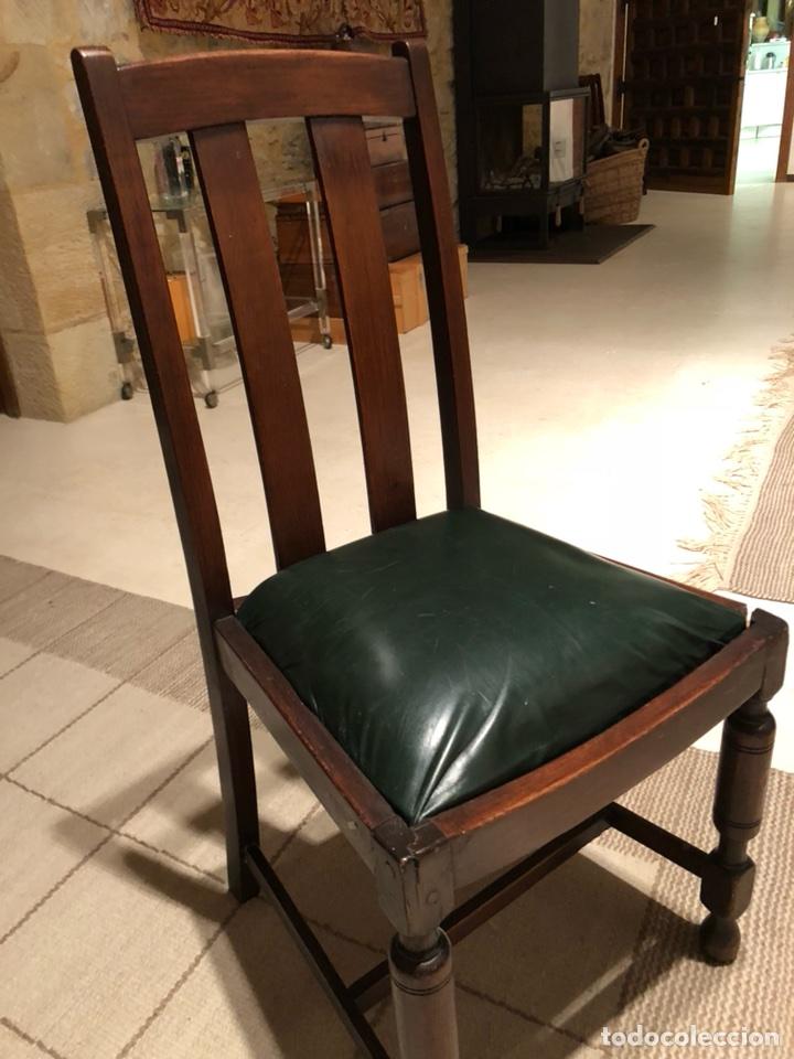 4 sillas comedor inglesas o americanas de mader  Comprar