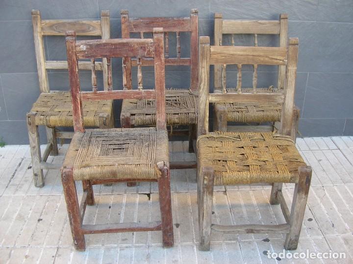 Sillas Antiguas  Muebles  todocoleccion