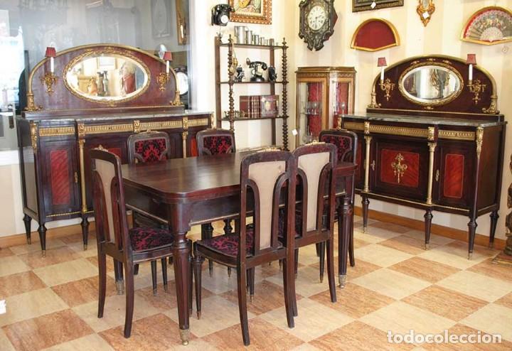 magnfico comedor antiguo estilo napolen  imp  Comprar Antigedades Varias en todocoleccion  121722691