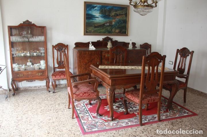 comedor antiguo de 1947 muy bien conservado  Comprar Mesas Antiguas en todocoleccion  126172647
