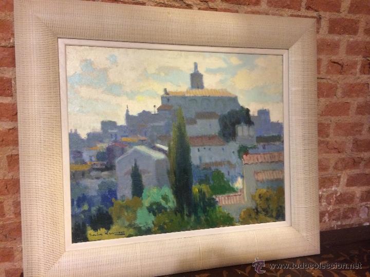 magnifica vista de cadaques del famoso pintor  Comprar Pintura al leo Moderna sin fecha definida en todocoleccion  51024716