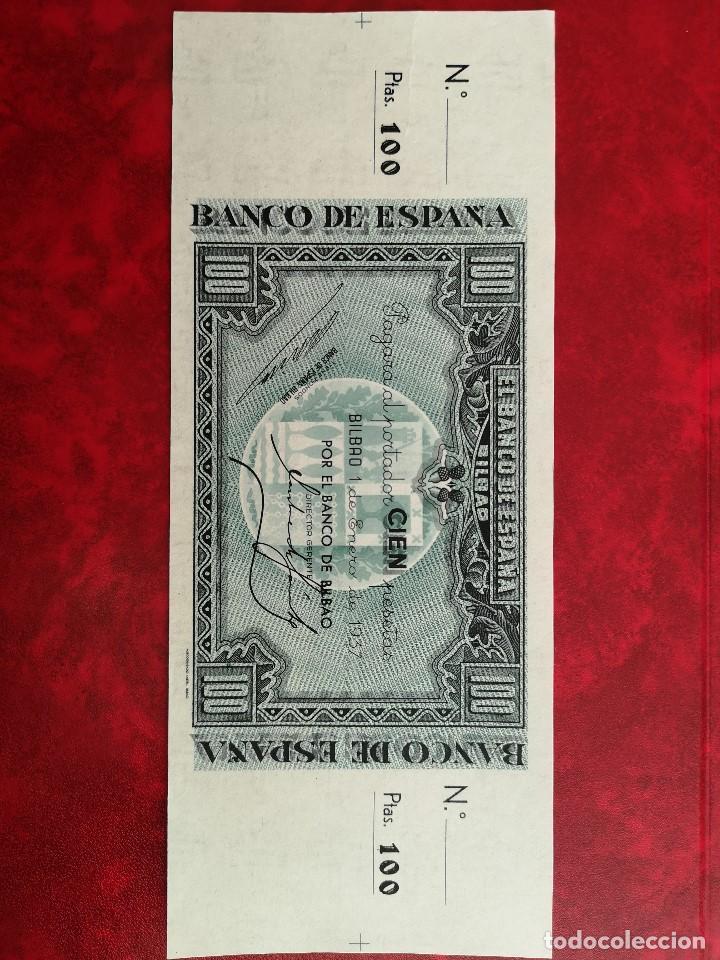 billete 100 pesetas con matriz antefirma banco - Comprar Billetes españoles antiguos en todocoleccion - 190318411