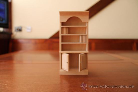 Precioso mueble de madera biblioteca para casa  Vendido