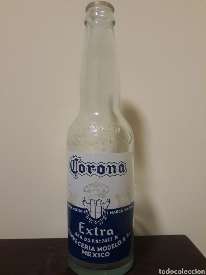 botella cerveza corona