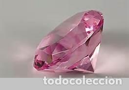 zafiro talla diamante rosa