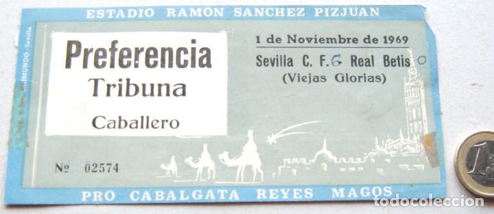 entrada ticket sevilla fc - real betis 1-11-196 - Comprar en todocoleccion - 116058799
