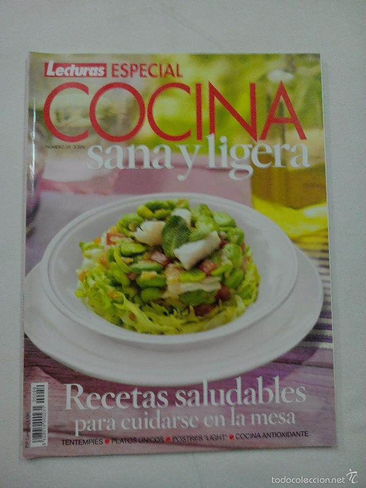 Revista lecturas especial cocina sana y ligera  Vendido