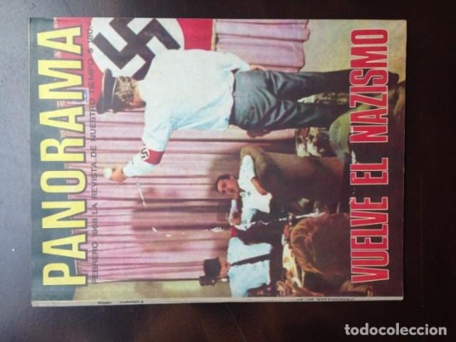 Coleccionismo de Revistas y Periódicos: REVISTA PANORAMA ARGENTINO - PORTADA: VUELVE EL NAZISMO - FEBRERO 1968 - Foto 1 - 177414788