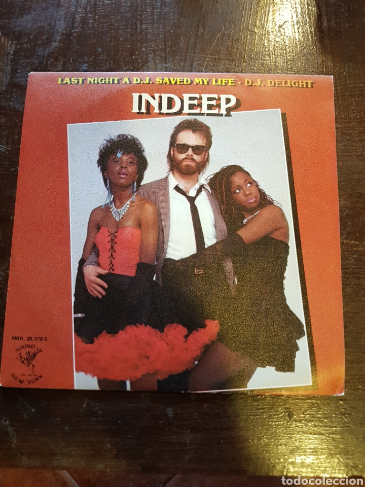 Indeep Last Night A Dj Saved My Life : indeep, night, saved, Indeep., Night, Saved, Life., Single., Vendido, Venta, Directa, 119247835
