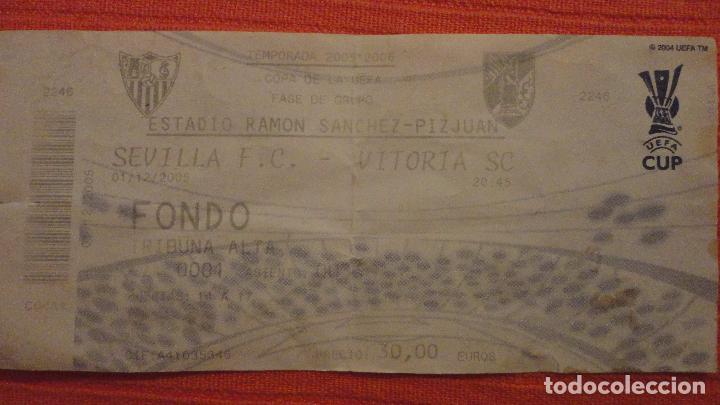 antigua entrada.ticket.sevilla fc-vitoria sc.co - Comprar Entradas de Fútbol Antiguas en todocoleccion - 100262743