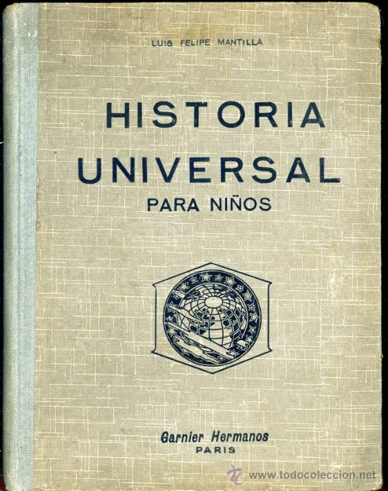 Historia Universal Para Niños Antiguo Libro De Comprar