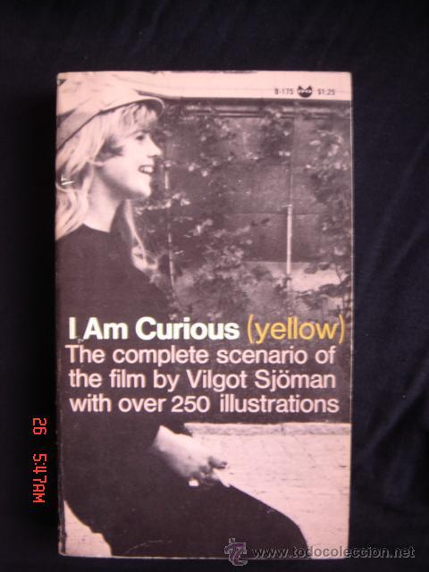 Libros de segunda mano: Libro de la película I am curious (yellow) de Vilgot Sjöman con 250 fotogramas. Texto en ingles - Foto 1 - 27694920