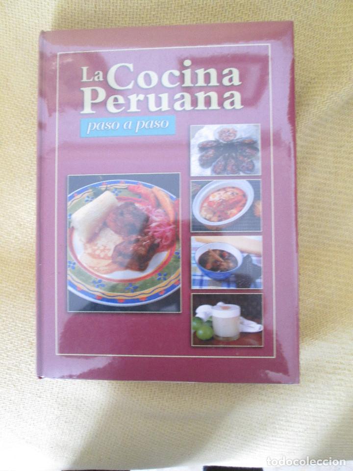 la cocina peruana paso a paso  Comprar Libros de cocina y