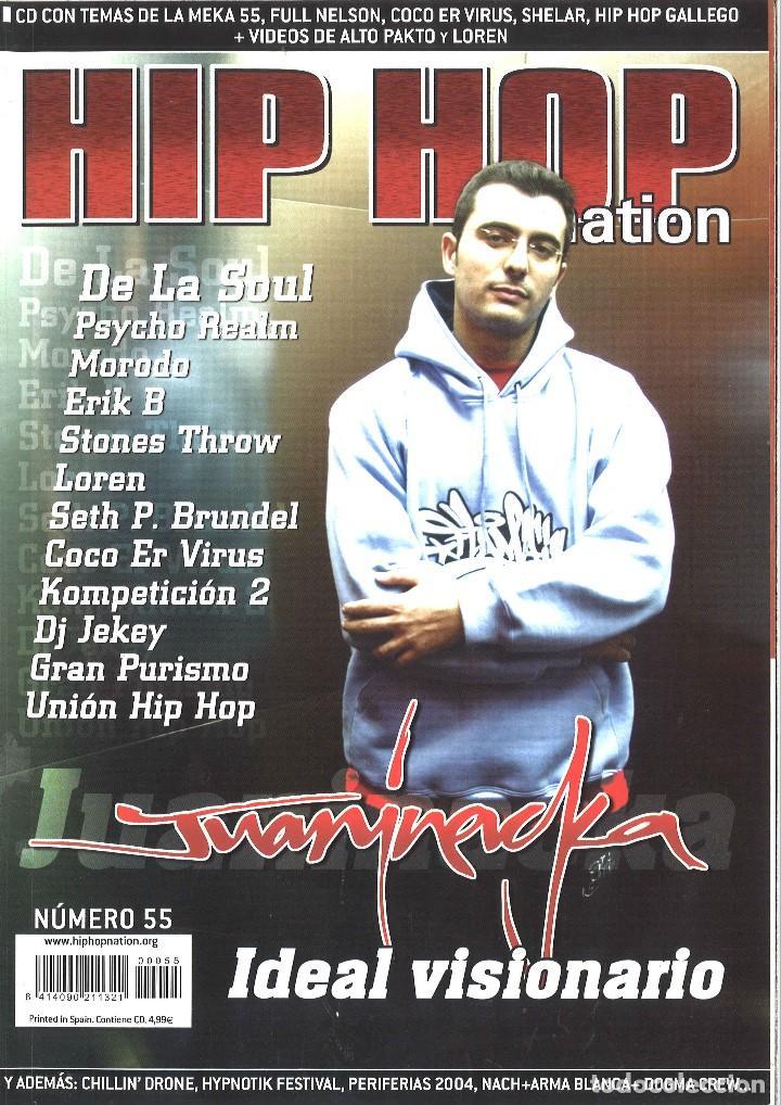 Lote pack 55 revistas rap hip hop nation + 4 es - Vendido en Venta Directa - 51957923