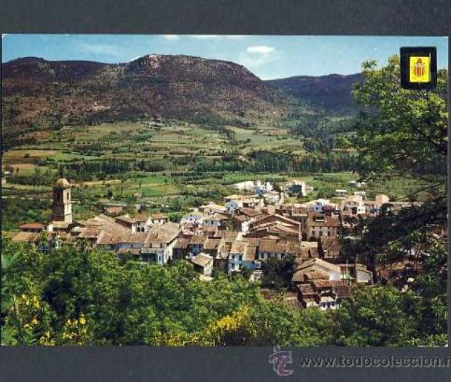 Postal D Amer Girona Vista Parcial Escudo De Oro Num