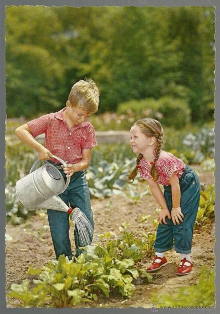 Imagini pentru regando las flores, fotos