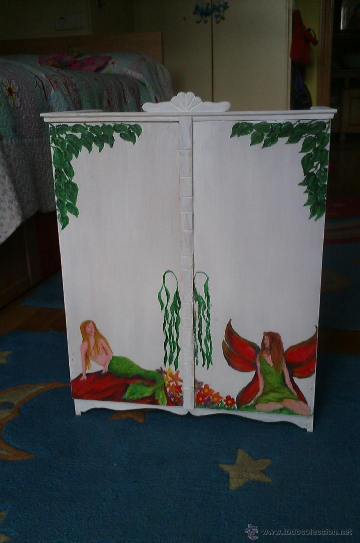 hago armarios artesanos pintados a mano a medi  Comprar