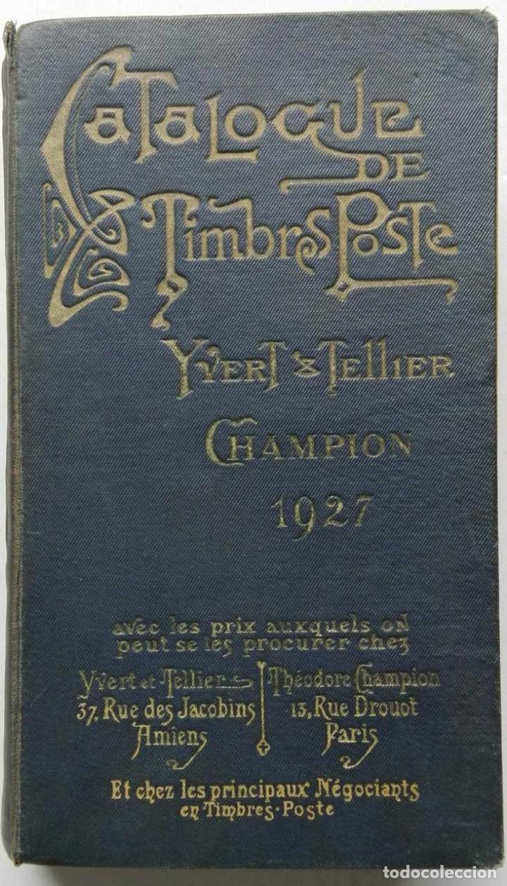 Catalogue De Timbres Yvert Et Tellier : catalogue, timbres, yvert, tellier, Catalogue, Timbres, Poste, Yvert, Tellier, Catalogs, Stamp, Books, Todocoleccion, 93570445